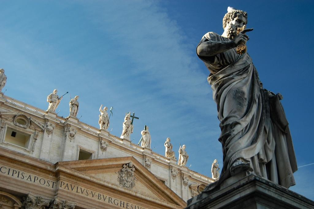 Città del Vaticano, Vatikán.
